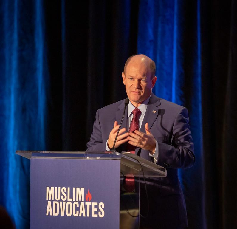 Senator Coons' remarks at Muslim Advocates Annual Gala